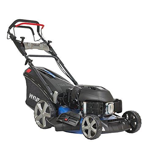 HYUNDAI-Benzin-Rasenmher-LM5102G-ES-Elektrostart-variabler-Radantrieb-Schnittbreite-51cm-sehr-starker-36kW-48PS-Hyundai-Motor-65L-Fangkorb-Mulcher-Benzinmher-selbstfahrend