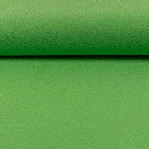 Deko- Bastelfilz 1mm limegrün -Preis gilt für 0,5 Meter-