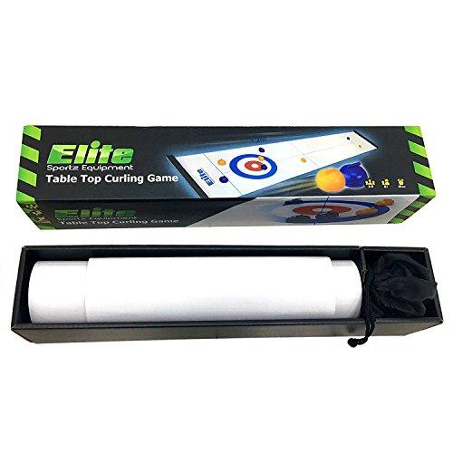 elite sportz curling tabletop tischspiel f r die ganze. Black Bedroom Furniture Sets. Home Design Ideas