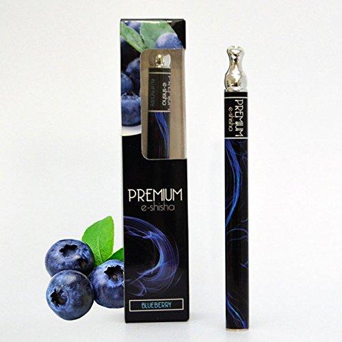 Premium e-shisha – Blueberry – 1.000 Zuege, nikotinfrei