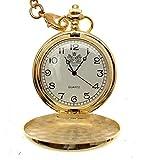 Taschenuhren-fr-Mnner-Gold-Pocket-Uhren-Quarz-Pocket-Uhren