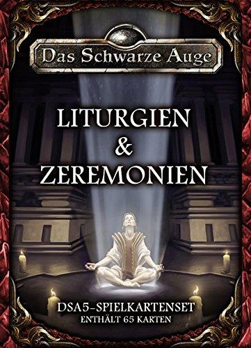 DSA5-Spielkartenset-Liturgien-Zeremonien-Das-Schwarze-Auge-Zubehr
