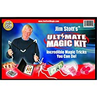 Jim-Stott-Magic-Ultimative-Magie-Kit-Set-Zaubertricks-fr-Erwachsene-Magie-Karten-Kasten-Svengali-Card-Deck-Das-3-Seil-Rtsel-Der-unglaubliche-Levitation-System-Magic-Sponge-Balls