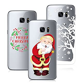 Yokata-3-Packs-Merry-Christmas-Serise-Samsung-Galaxy-S7-Hlle
