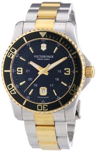 Victorinox-Swiss-Army-Herren-Armbanduhr-XL-Maverick-Analog-Quarz-Edelstahl-241605