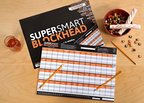 DENKRIESEN-SUPER-SMART-BLOCKHEAD-Intelligence-is-relative-STADT-LAND-FLUSS-auf-englisch