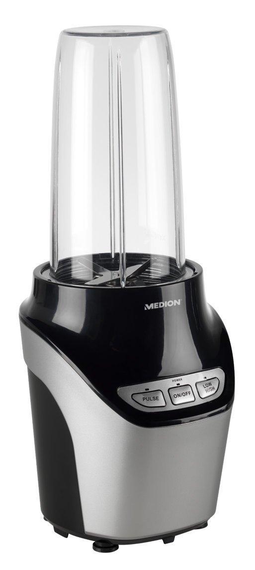 MEDION-MD-17478-Multi-Nutri-Mixer-1000-Watt-LeistungEdelstahlmesser-Edelstahl-ummanteltMixbecher-aus-Tritan