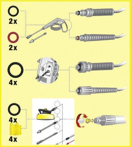 Krcher-Ersatz-O-Ring-Set