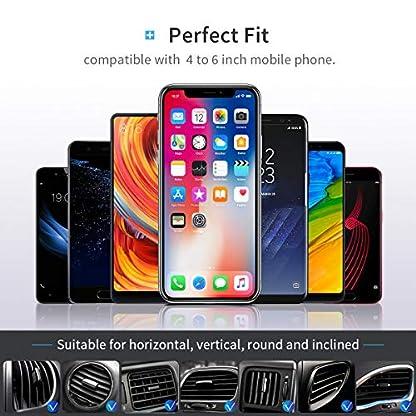 DIVI-Handyhalterung-Auto-Handy-Halterung-Schwerkraft-Linkage-Autotelefonhalterung-Autohalterung-Auto-Halter-KFZ-Halterung-Autotelefonhalter-Lftung-Universal-Kompatibel-iPhone-Galaxy-Huawei-MEHRWEG