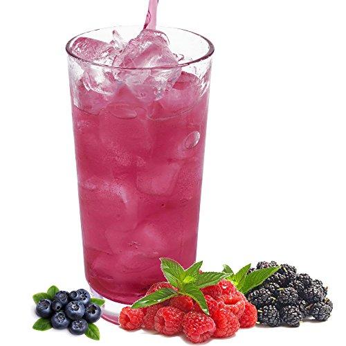 Waldfrucht Geschmack extrem ergiebiges Getränkepulver für Isotonisches Sportgetränk Energy-Drink ISO-Drink Elektrolytgetränk Wellnessdrink