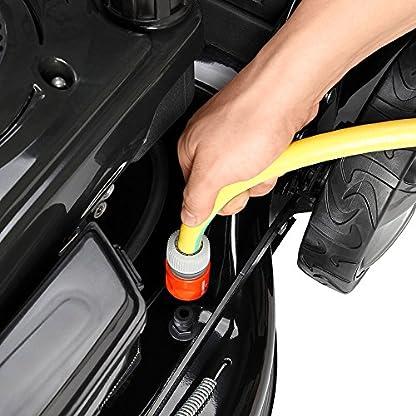 BRAST-Benzin-Rasenmher-Selbstantrieb-22kW30PS-41cm-Schnittbreite-Stahlgehuse-40L-Fangkorb-4-Takt-Motor-TV-geprft