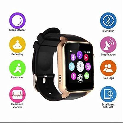 GPS-Sportuhr-Herzfrequenzmesser-Fitness-Pulsuhr-Laufuhr-SmartwatchAktivittstrackerBlutdruck-MonitorSchlafberwachungRinging-Erinnerung-Armbanduhr-Fitness-Handy-Uhrfr-AndroidSamsungHuaweiappleios