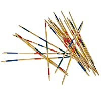 Eichhorn-100004534-Outdoor-Mikado-inklusiv-Tasche-Geschicklichkeitsspiel-Lnge-65cm-24-Stbe