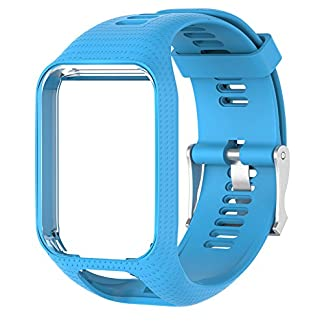 MOLRE-YAN-Silikon-Uhrenarmband-Ersatz-Armband-25-cm-lang-fr-TomTom-Spark-3-Runner-2-3-Golfer-2