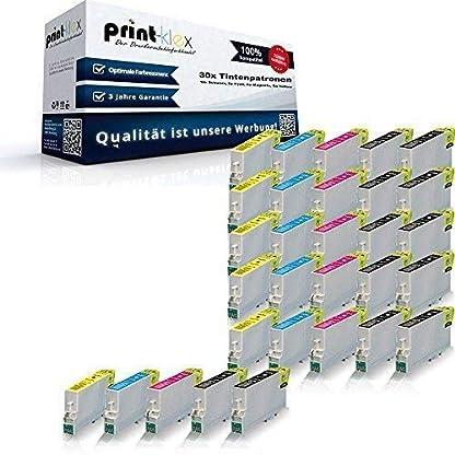 30x-XL-Tintenpatronen-fr-Epson-Stylus-Office-B40W-BX300F-BX310FN-BX510W-BX600FW-BX610FW-Stylus-S20-S21-SX100-SX105-SX110-SX115-SX200-SX205-SX210-SX21