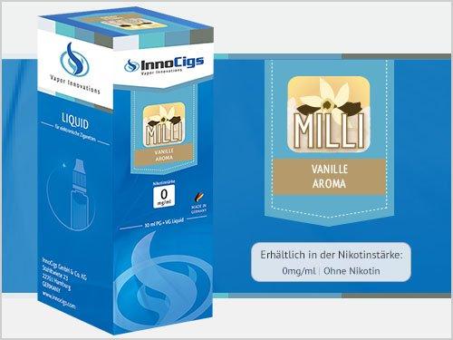 InnoCigs Milli Liquid kein Nikotin, 10 ml