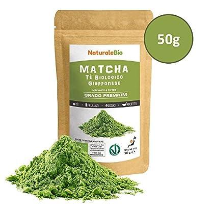 Matcha-Tee-Pulver-Bio-Premium-Qualitt-50g-Original-Green-Tea-aus-Japan-Japanischer-Matcha-ideal-zum-Trinken-Grntee-Pulver-fr-Latte-Smoothies-Matcha-Getrnk-Hergestellt-in-Uji-Kyoto