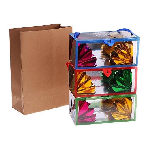 P-PRETTYIA-1-Stck-Papiertte-Blumen-leeren-Beutel-Zaubertricks-mittlere-Gren-Papierbeutel-magische-Teile