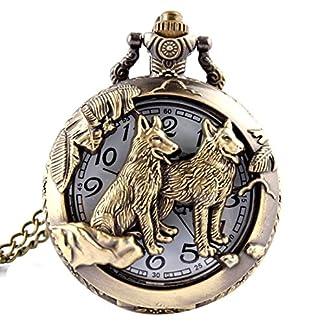 joyliveCY-Taschenuhr-mit-Wolf-Motiv-mit-Quarz-Uhrwerk-und-Halskette-cooler-Stil-antiker-Stil-hohl-Bronze