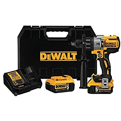 DEWALT-DCD996P2-20V-MAX-XR-Lithium-Ion-Brushless-3-Speed-Hammer-Drill-Kit-by-DEWALT
