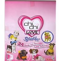 Simba-Chi-Chi-Love-Beach-Serie-Hunde-zum-Sammeln-und-SpielenDisplay-mit-24-Chi-Chi-Love-Beach-Tten