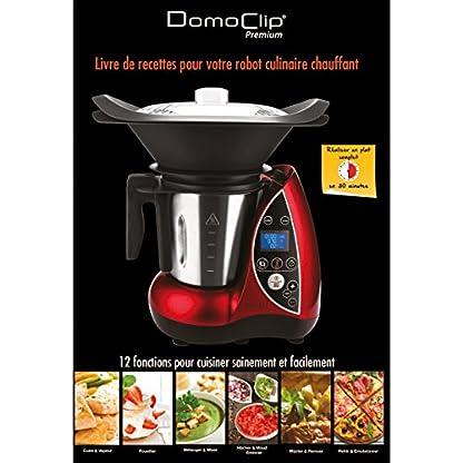 Domoclip-DOP142-Kchenmaschine-mit-Kochfunktion-rot
