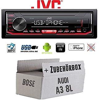 Autoradio-Radio-JVC-KD-X262-MP3-USB-Android-iPhone-Einbauzubehr-Einbauset-fr-Audi-A3-8L-Bose-JUST-SOUND-best-choice-for-caraudio