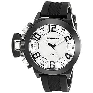 CEPHEUS-Herren-Armbanduhr-XL-Analog-Quarz-Silikon-CP901-682