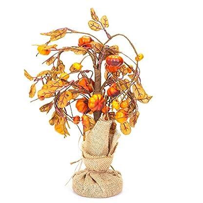 Honig-in-Me-klein-WILLOWING-Krbis-Fall-Medley-11-x-4-Kunstpflanze-Ernte-Baum