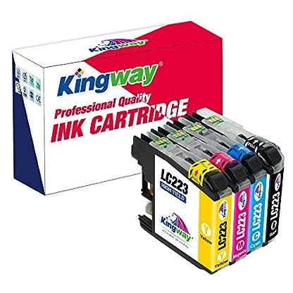 Kingway-Ersatz-fr-Epson-33-33XL-Tintenpatronen-hohe-Kapazitt-kompatibel-mit-Epson-Expression-Premium-XP-530-XP-630-XP-635-XP-640-XP-645-XP-540-XP-830-XP-900
