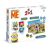 Clementoni-134724-Edukit-2-in-1-Minions-Memo-und-Puzzle