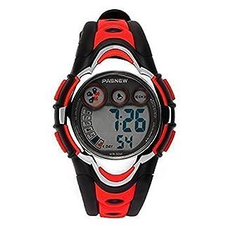 Hiwatch-Kinder-Sportuhr-Wasserdichte-LED-Digitaluhr-fr-Jungen-Blau