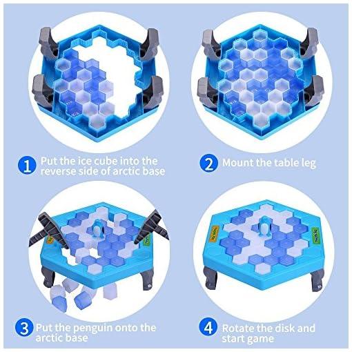 HOMCA-Kinder-Spiele-Pinguin-Trap-Tischspiel-Balance-Ice-Cubes-Speichern-Pinguin-Icebreaker-Schlagen-Familie-Strategie-Spiele