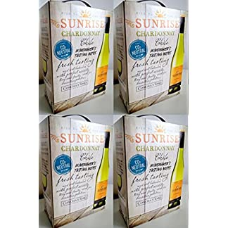 4-x-SUNRISE-CHARDONNAY-CONCHA-Y-TORO-3-LITER-BAG-IN-BOX-Incl-Goodie-von-Flensburger-Handel