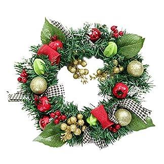 Aomili-Knstliche-Weihnachtsbume-Weihnachtskranz-Halloween-Girlanden-HerbstGirlanden-Tischkranz-Herbst-Girlanden-Beerenkranz-Fr-Halloween-Thanksgiving-Weihnachten-Dekoration-Geschenke
