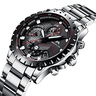 Herren-Schwarz-Militr-Uhren-Herren-Chronograph-Luxus-Sport-Wasserdicht-Datum-Kalender-Edelstahl-Silber-Armbanduhr-Mnner-Multifunktions-Mode-Designer-Modisch-Analoge-Quarz-Stopuhr