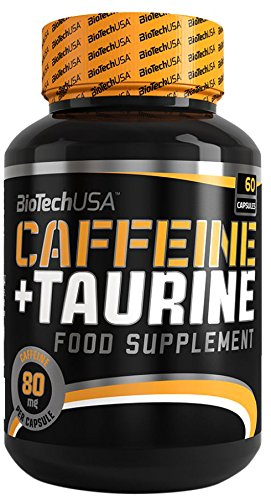 BiotechUSA Caffeine + Taurine (Power Force) 60 Kapseln 60 Kapseln, 1er Pack (1 x 55,8 g)