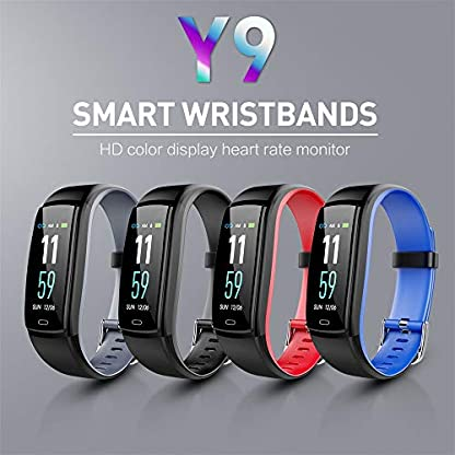 BZLine-Bluetooth-Smartwatch-Wasserdichte-OTA-Smart-Watch-Armband-Fitness-Tracker-fr-iPhone-fr-AndroidiOS-fr-Kinder-Frauen-Mnner