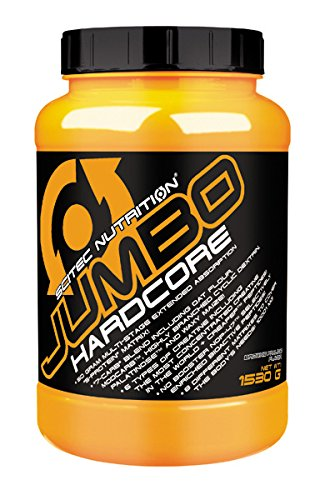 Scitec Nutrition Jumbo Hardcore Brownie-Praline, 1er Pack (1 x 1.53 kg)