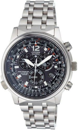 Citizen-Promaster-Sky-Pilot-Titan-Funkchronograph-Herrenuhr-AS4050-51E