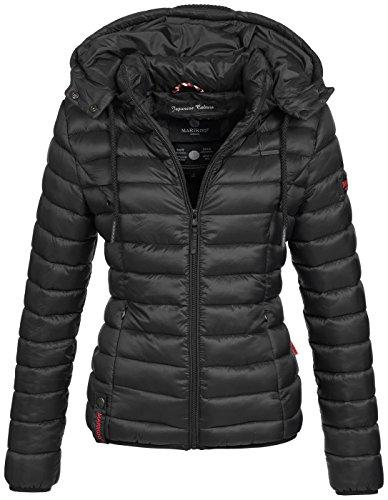 Marikoo Damen Jacke Steppjacke Übergangsjacke gesteppt Frühjahr B619
