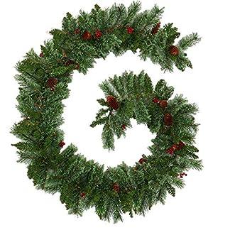 willkey-Tannengirlande-Weihnachtsgirlande-mit-Zapfen-fr-Innen-und-Auen-270cm-Weihnachten-Girlande-Tanne-Dekoration