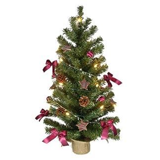 Weihnachtsbaum-75cm-komplett-geschmckt-mit-Lichterkette-Kugeln-Sternen-etc