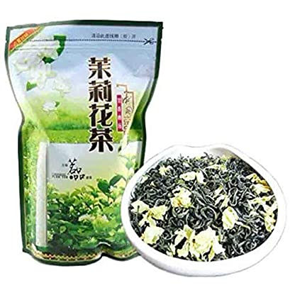 Schlussverkauf-neuer-organischer-Jasmin-Blumen-Tee-Jasmin-duftender-grner-Tee-250g-055LB-Tee-Freeshipping-mo-li-Hua-cha-Hoher-kosteneffektiver-Kung-Fu-Tee-chinesischer-Tee