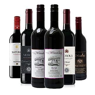 Rotwein-Alkoholfrei-Probierpaket