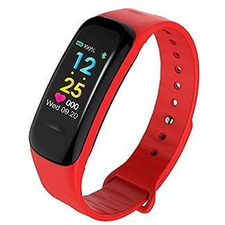 Yumimi88-Fitness-Armband-Tracker-Schrittzhler-Sportuhr-Wasserdichtes-Smart-Armband-Pedometer-mit-Herzfrequenzmesser-Sportmodi