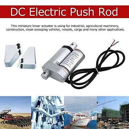 Meganolga-Anschlag-Elektrische-Stostange-20MM-DC-Stostangen-Motor-mit-Hochleistungs-Linearantriebs-Klammer-fr-industrielles-landwirtschaftliche-Maschinerie-Bau