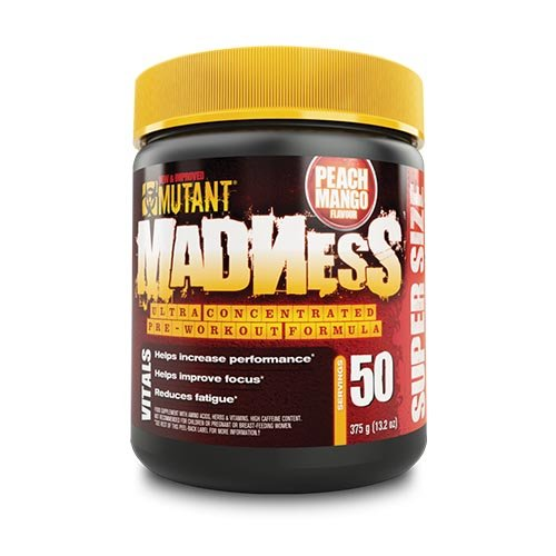 Mutant – Mutant Madness ( 50serv. – 375g ) – Fuzzy Peach