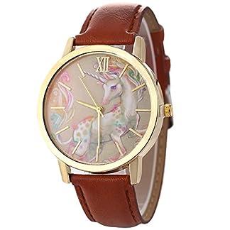 Souarts-Damen-Mdchen-Armbanduhr-Leder-Armband-Einhorn-Muster-Zifferbaltt-Analoge-Quarzuhr