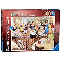 Ravensburger-Happy-Days-at-Work-No16-The-Waitress-Puzzle-500-Teile